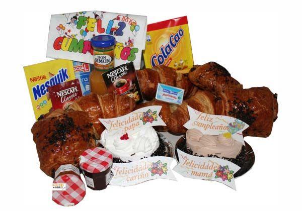 Desayuno a domicilio Cumpleaños
