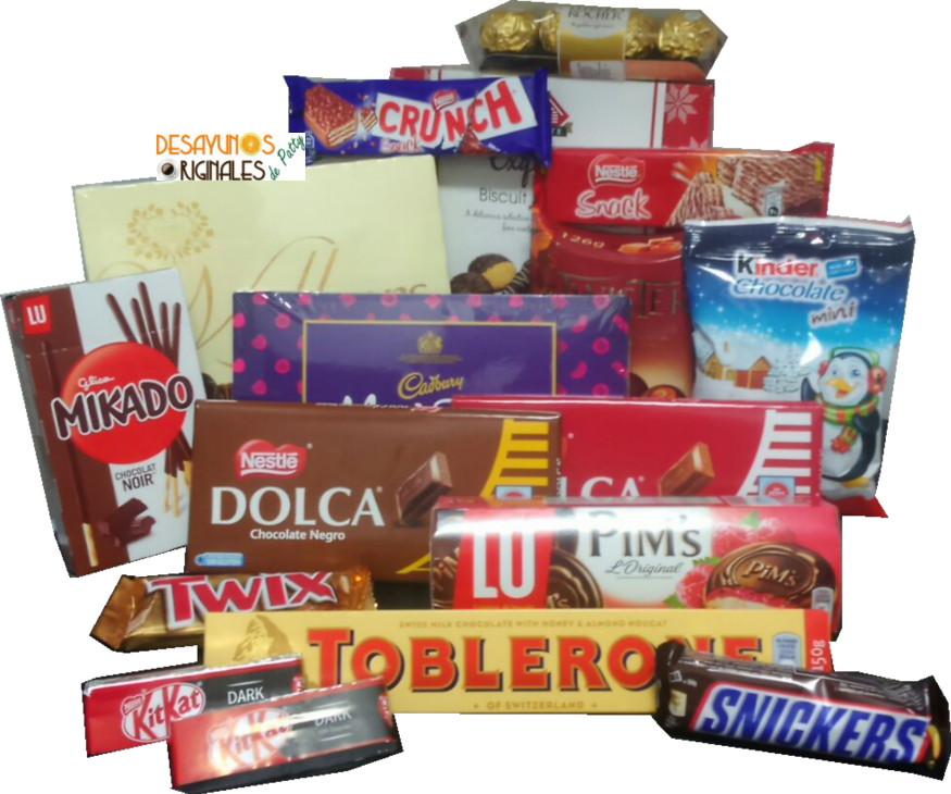 Patty regalo chocolate