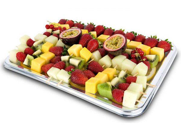 cesta fruta gourmet Catering
