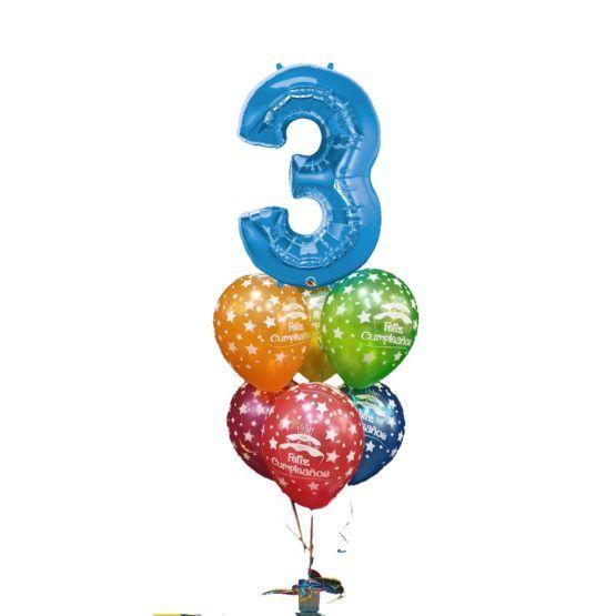 Globos a domicilio, sorpresa globos a domicilio, globos regalo original a domicilio, regalo original globos